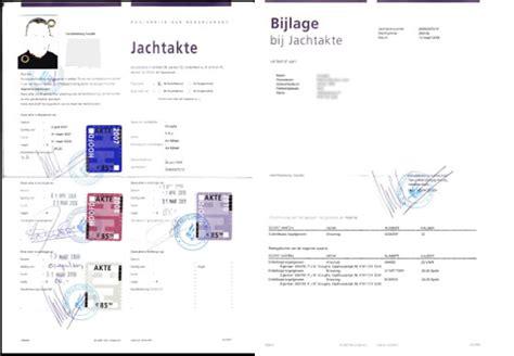 Jachtvergunning Nederland by Aanvraag Logeerakte Art 3 28 Wnb T B V Buitenlandse Gastjager