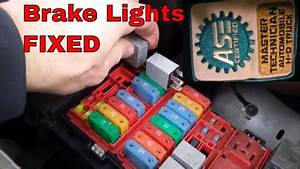 How To Diagnose Brake Lights And Fix 2007 Ford E250