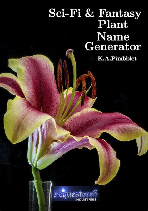sci fi  fantasy plant  generator sequestered