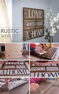 40, Rustic, Wall, Decor, Diy, Ideas, 2017