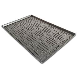 xtreme mats black kitchen depth sink cabinet mat drip tray shelf liner 30 3 8 in x 21 1