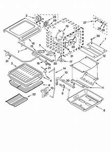 Kitchenaid Kgrs807sss00 Gas Range Parts