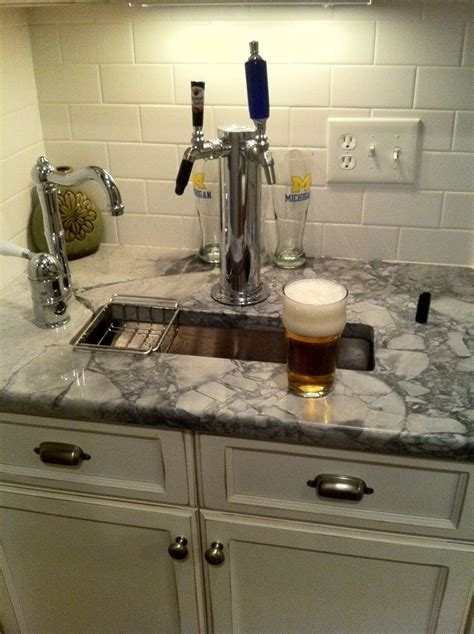 Home Bar Tap by Tap In The Kitchen For The Home Brew Just For My