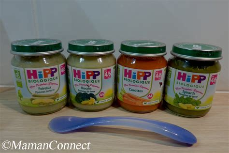 petit pot bebe hipp petits pots hipp biologique maman connect