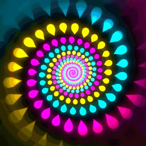 color animation colors spiral woahdude gif find on gifer