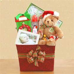 baby s first christmas gift basket free shipping
