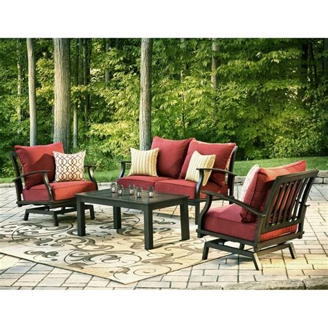 Patio Furniture by Patio Cozy Outdoor Furniture Design With Allen Roth