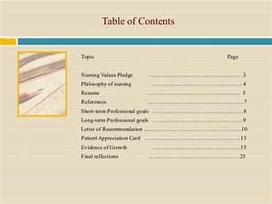 professional nursing portfolio google search With professional portfolio nursing template