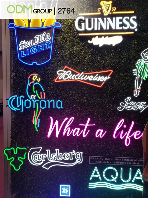 customized neon signs brilliant reinforce brand image