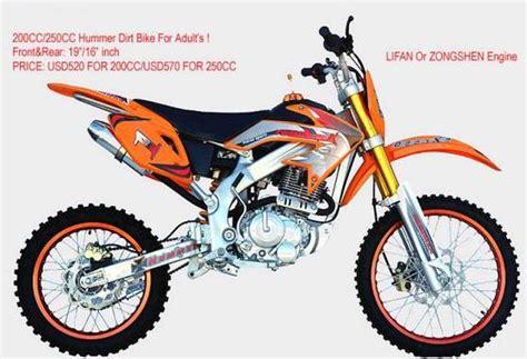 2500cc Air Cooled Hummer Dirt Bike(id