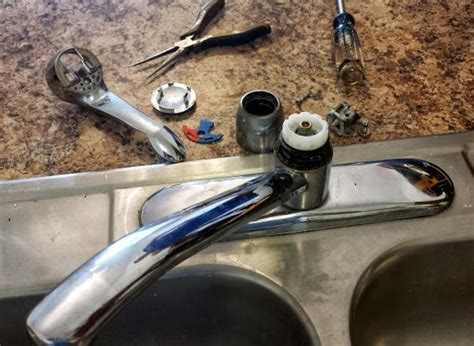 How To Replace Cartridge On Moen Kitchen Faucet Need Help Identifying Which Moen Kitchen Faucet I Need To Replace Grommet Doityourself