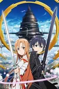 Sword Art Online.Kirito.Asuna iPhone 4 wallpaper.640x960