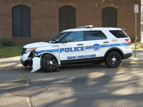 orleans police dept ford suv ford police cars