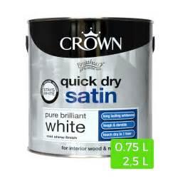 Peinture Dorée Pour Bois : peinture blanche satin e quick dry pour bois et m tal ~ Dailycaller-alerts.com Idées de Décoration