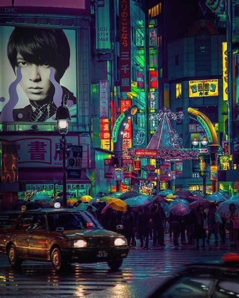 neon glow  tokyo  londons nightlife captured