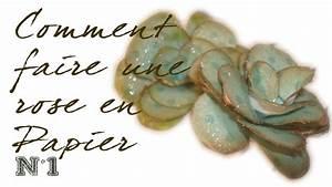 Comment Faire Des Roses En Papier : comment faire une rose en papier n 1 id esd copeinture ~ Melissatoandfro.com Idées de Décoration
