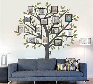 Family tree wall art ideas nature decal home