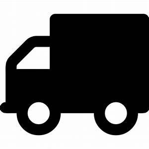 Liefer ,Lastwagen,silhouette Symbol Kostenlos von Font ...