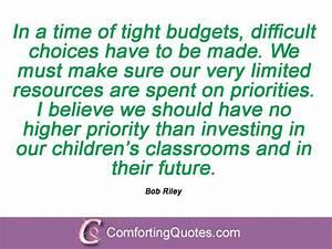 Bob Riley Quotes And Sayings | ComfortingQuotes.com