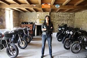 La Maison De La Moto : portrait sandrine dor la jolie bricoleuse et ses triumph moto magazine leader de l ~ Medecine-chirurgie-esthetiques.com Avis de Voitures