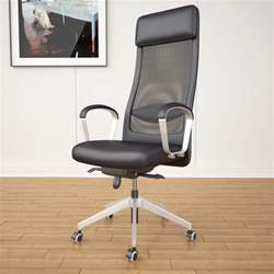 Tall Office Chairs Ergonomic by Ikea Markus Office Chair 3d Max