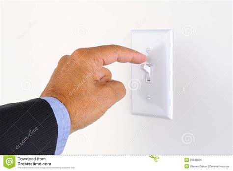turn on light turning the lights stock image image of sleeve