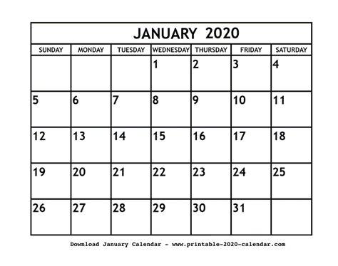 january printable calendar blankeditable printable calendar