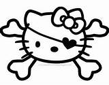 Kitty Hello Coloring Pages Colouring Nerd Pirate Printable Face Sheets Cat Clipart Skull Valentine Printables Halloween Cutest Gun Ever Site sketch template