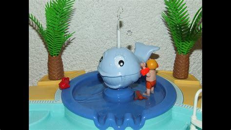 ein schoener tag im playmobil schwimmbad  kurzfilm