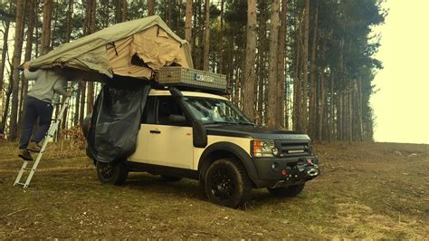 land rover discovery  camper terenowy youtube