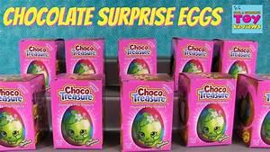 Shopkins Choco Treasure Surprise Chocolate Eggs With ...