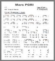 notasi lagu daerah jawa barat paduan suara mars pgri tunas63