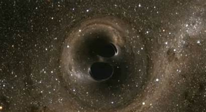 Holes Merging Hole Collision Ligo Colliding Discovery