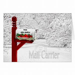 mail carrier gifts on zazzle With letter carrier christmas cards