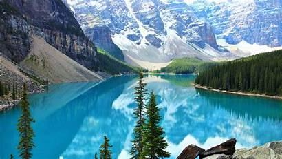 Moraine Lake Wallpapers Desktop Background Canada Banff