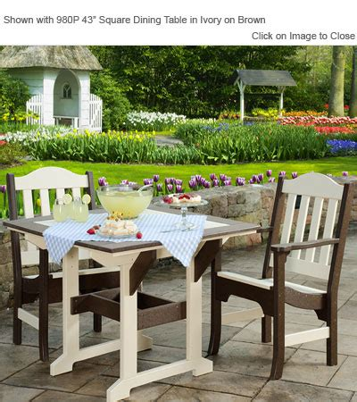 finch poly furniture avonlea garden chair outdoor poly