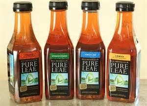 Lipton Bottled Iced Tea Brands
