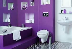 Modèle Salle De Bain : peinture salle de bain 80 photos qui vont vous faire craquer ~ Voncanada.com Idées de Décoration