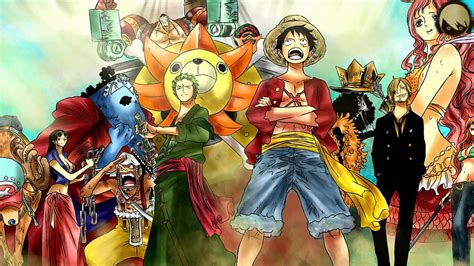 straw hat crew hd wallpaper background image