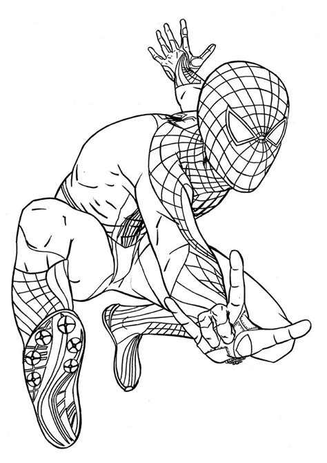 spiderman coloring pages   coloring sheets