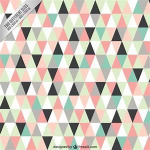 Des Couleurs Pastel : triangles de fond dans des couleurs pastel t l charger des vecteurs gratuitement ~ Voncanada.com Idées de Décoration