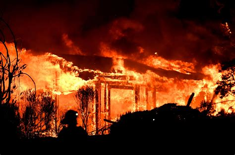 The firefighters, 26 and 31, were injured while battling the silverado fire, which had charred at least 7,200 acres in and around the community of irvine, southeast of los angeles, orange county fire. Photos: California Wildfires Burn Napa Valley Wine Country ...
