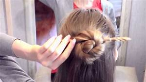 5 quick. Hairstyle with hair sticks. - YouTube