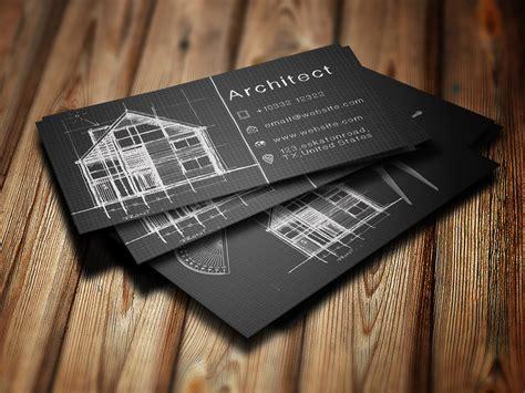 business card  architect techmix