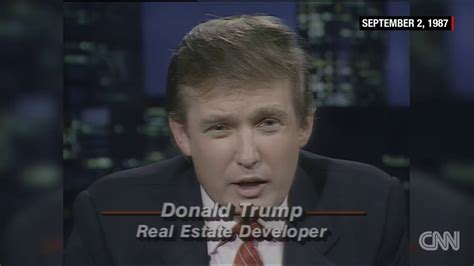 trump donald years he ago today right king 1987