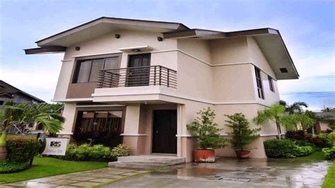 photo of small simple house design ideas box type house design in the philippines