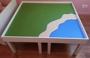 Table Enfant Avec Rangement : une table de jeu playmobil avec lack bidouilles ikea ~ Melissatoandfro.com Idées de Décoration