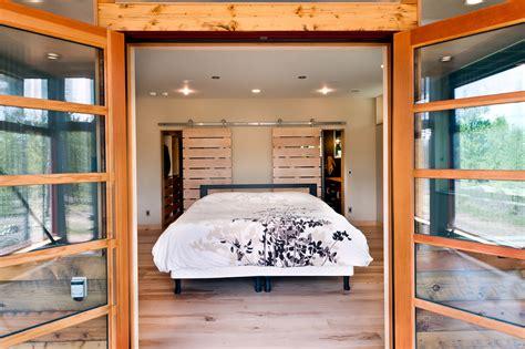 walk  closet doors bedroom modern  barn doors bed