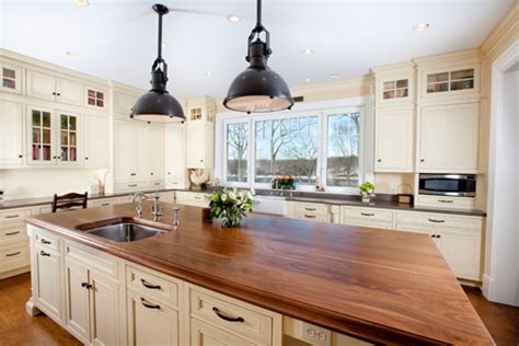 wood island tops kitchens best materials for kitchen countertops