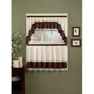 chf you jayden tailored tier curtain panel set of 2